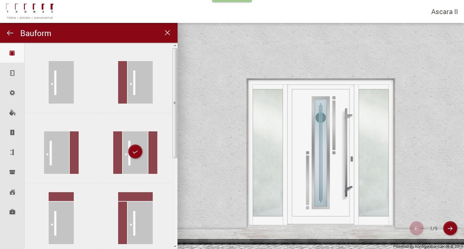 Türen online  Online Konfigurator für Haustüren | Thomas Türen